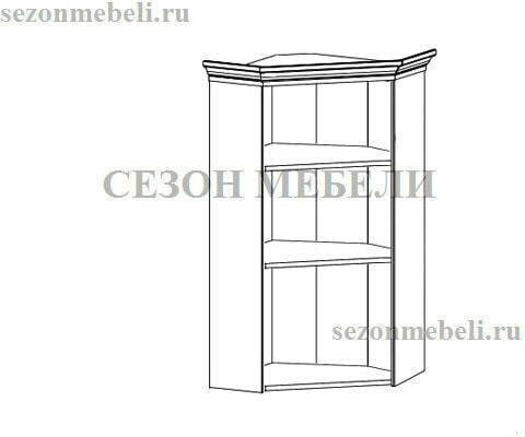 Шкаф верхний Кентаки NADN1W белый (фото, вид 1)