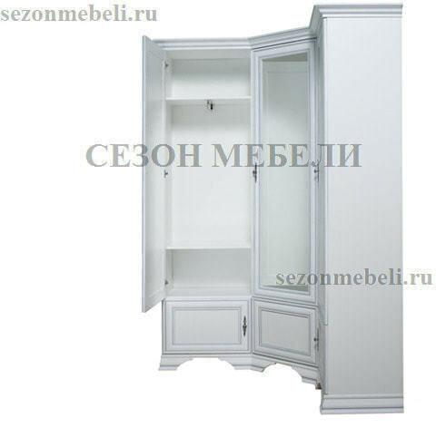 Шкаф угловой Кентаки SZFN5D белый (фото, вид 1)