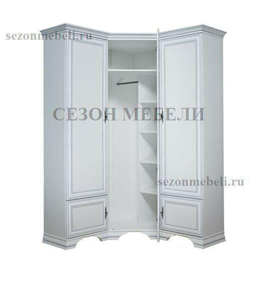 Шкаф угловой Кентаки SZFN5D белый (фото, вид 2)