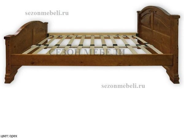 Кровать Леонсия с резьбой (фото, вид 3)