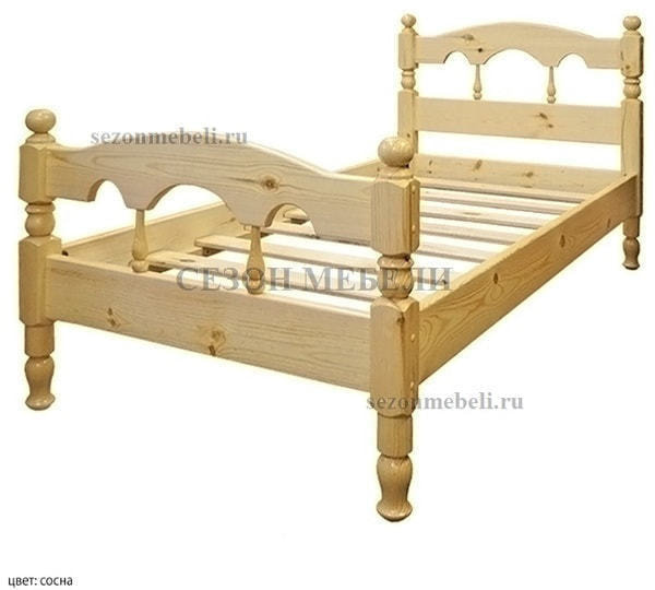 Кровать Капелла (фото, вид 3)
