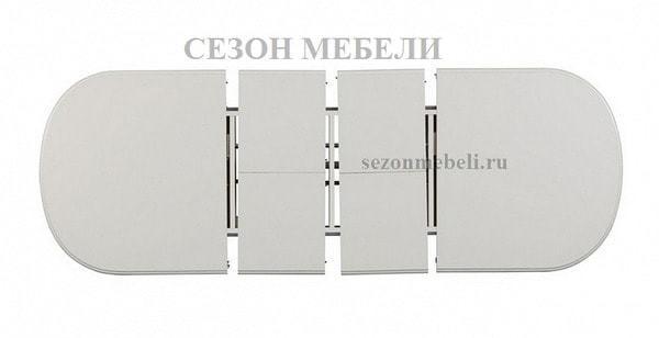 Стол Siena/ Сиена (SA-T6EX2L) Ivory white (фото, вид 1)