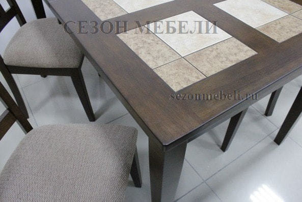 Стол LT T13271 HONEY OAK #K115/ плитка 2 тона Cosmo, Antige Leather (фото, вид 5)