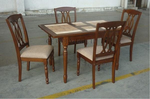 Стол LT T13301 DERBY BROWN #K229/ плитка 2 тона (фото, вид 3)