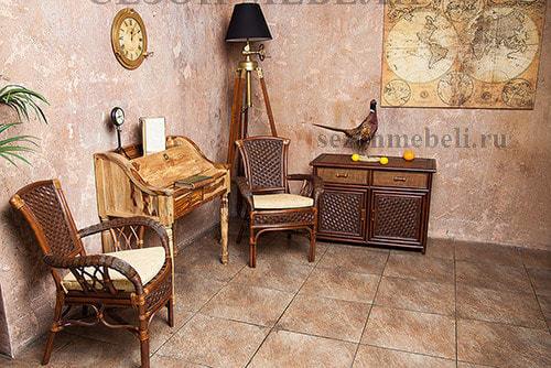 Стол Бюро с крышкой Бомбей SK 4663 (фото, вид 2)