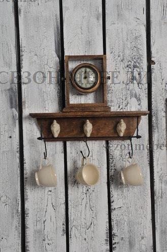 Часы колониальные C-3132 (фото, вид 2)