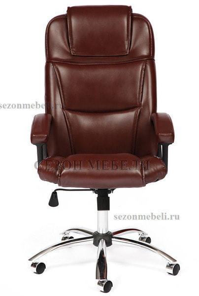 Кресло офисное Bergamo (Бергамо) Хром (фото, вид 2)