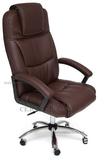Кресло офисное Bergamo (Бергамо) Хром (фото, вид 5)