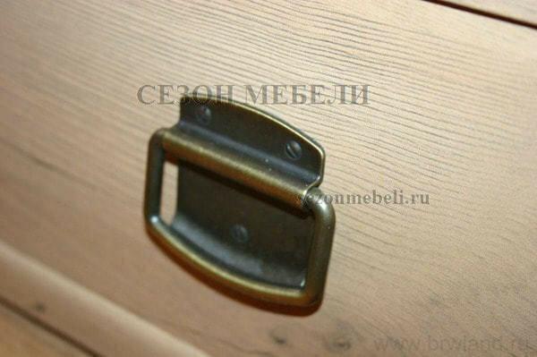Стол письменный Индиана JBIU 2s 120 сосна каньйон (фото, вид 1)