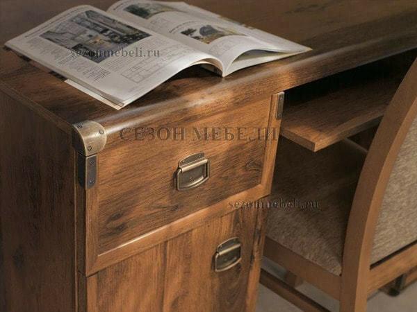 Стол письменный Индиана JBIU 2D 2s 140 дуб саттер (фото, вид 1)