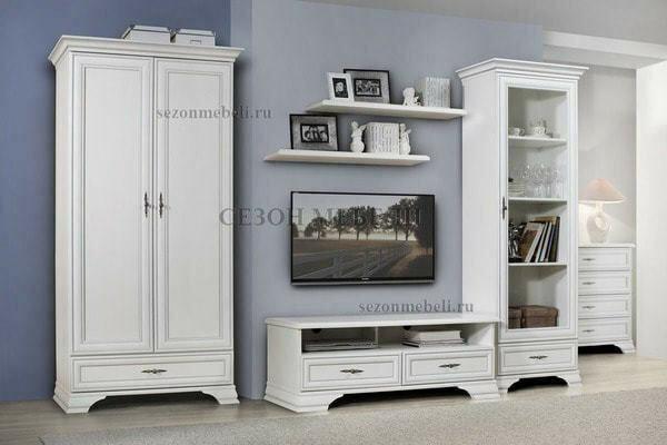 Модульная система Мебель Кентаки (Kentaki) белый (фото, вид 2)