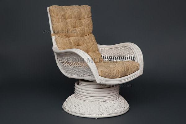 Кресло-качалка Andrea Relax Medium White (Андреа Релакс Медиум) (фото, вид 1)