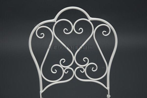 Стул складной Secret De Maison Love Chair белый (фото, вид 1)