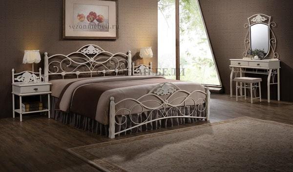 Кровать Canzona (Канцона) white (фото, вид 3)