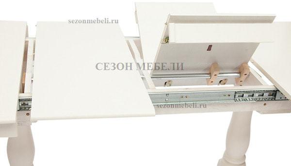 Стол Siena/ Сиена (SA-T6EX2L) Ivory white (фото, вид 2)