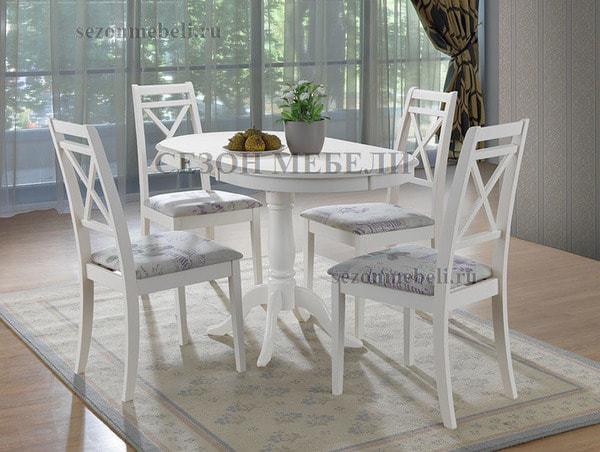 Стол Solerno (ME-T4EX) Pure white (фото, вид 1)