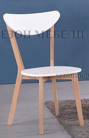 Обеденная группа (стол Max и стулья Maxi) натуральный (фото, вид 5)