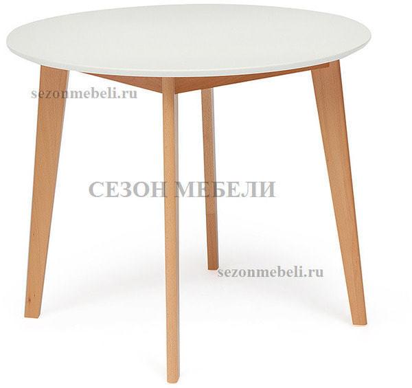 Обеденная группа (стол Bosco и стулья Maxi) натуральный (фото, вид 2)