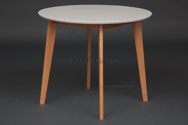 Обеденная группа (стол Bosco и стулья Maxi) натуральный (фото, вид 4)