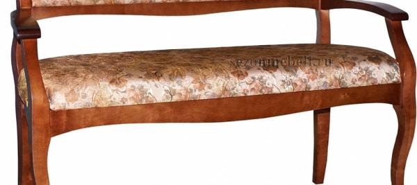 Диван - банкетка Каприо 1 (11, 36/1) (фото, вид 2)