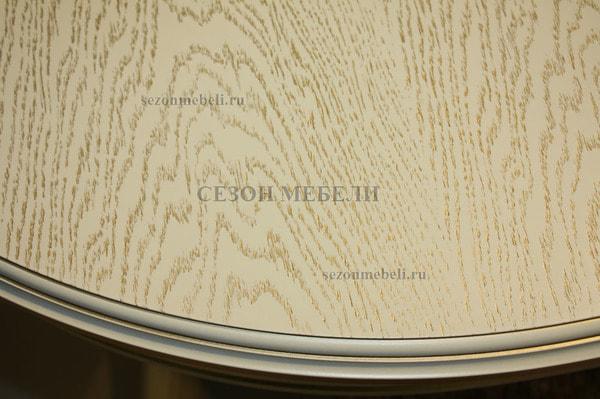 Стол Альт Ново-4 слоновая кость с золотой патиной (фото, вид 2)