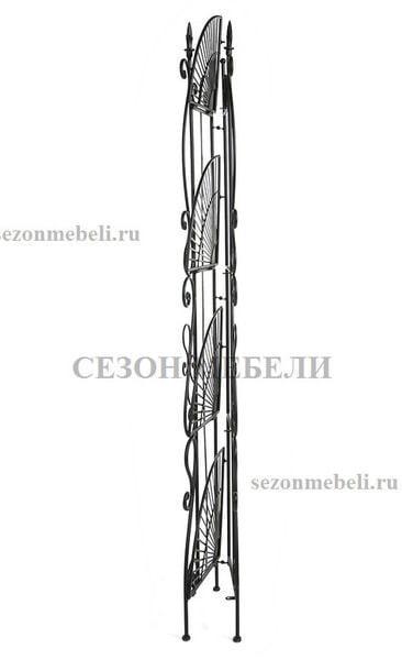 Этажерка угловая Secret De Maison 001 черный (фото, вид 3)