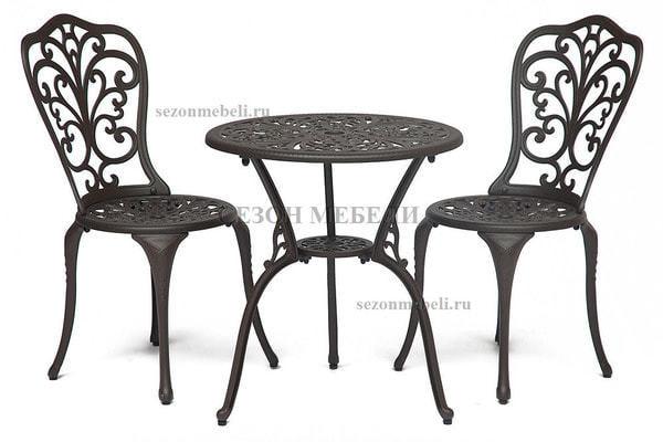 Комплект Secret De Maison Romance (Романс) (стол +2 стула) черный (фото, вид 3)