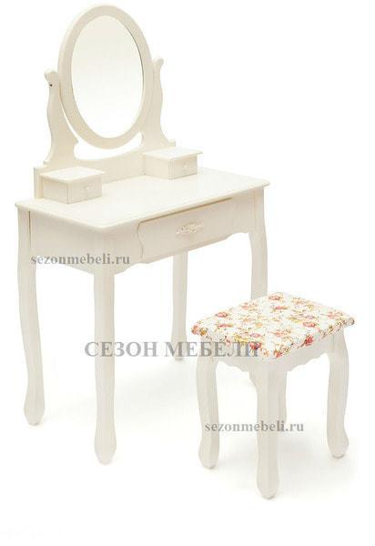 Туалетный столик с зеркалом и табуретом Coiffeuse (Куэфюз) HX15-075 (фото, вид 1)