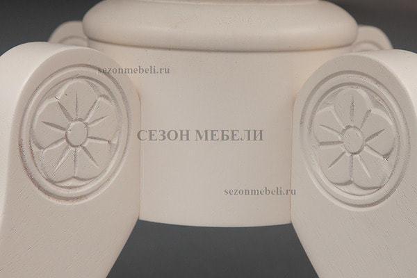 Столик журнальный Borgia (593-04) Butter white (фото, вид 2)