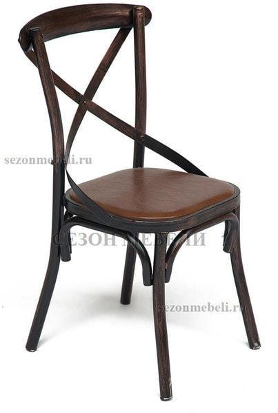 Стул металлический Cross chair (фото, вид 1)