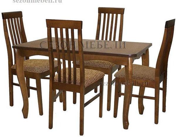 Стол обеденный Манул дуб (фото, вид 2)
