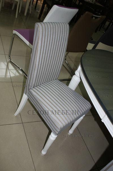 Стол TS FIONA, GREY/PURE WHITE (FN-T6EX(AV)) ASH VENEER (фото, вид 4)