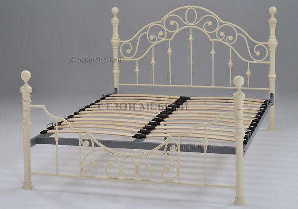 Кровать Victoria (Виктория) 9603 (слоновая кость) (фото, вид 1)