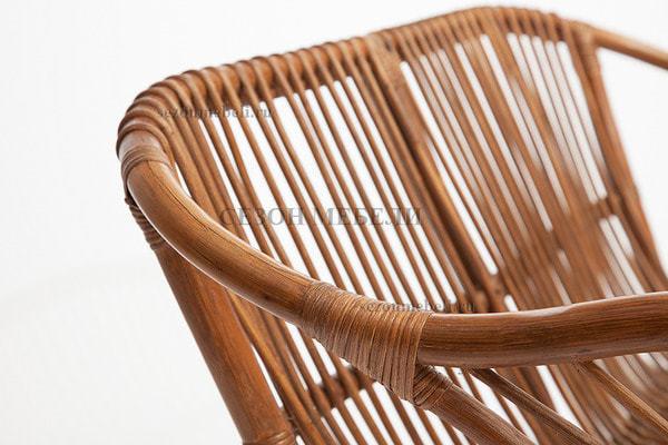 Комплект для отдыха New Bogota (диван + 2 кресла + стол со стеклом) (фото, вид 2)