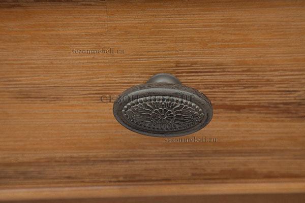Шкаф книжный малый Avignon (Авиньон) PRO-L01-H132 (фото, вид 2)