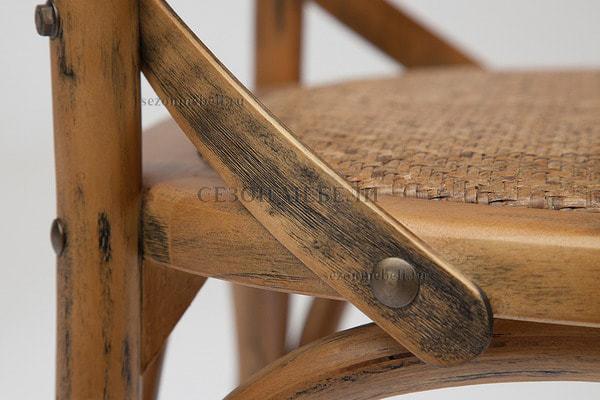 Стул с подлокотниками Cross Armсhair (Кросс Армчер) (фото, вид 6)