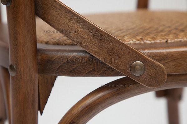 Стул с подлокотниками Cross Armсhair (Кросс Армчер) (фото, вид 12)