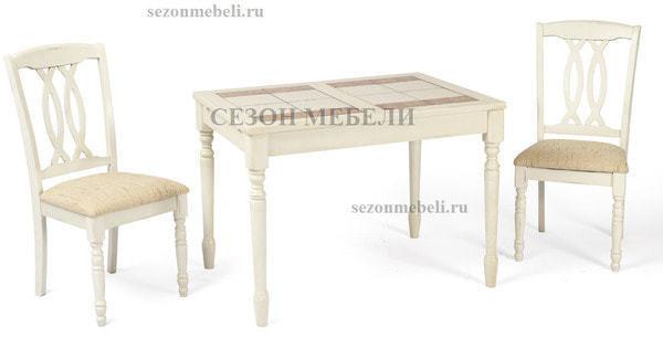 Стол LT T13302 BUTTERMILK #WW21/ плитка 2 тона LILY WHITE/ COSMO (фото, вид 4)