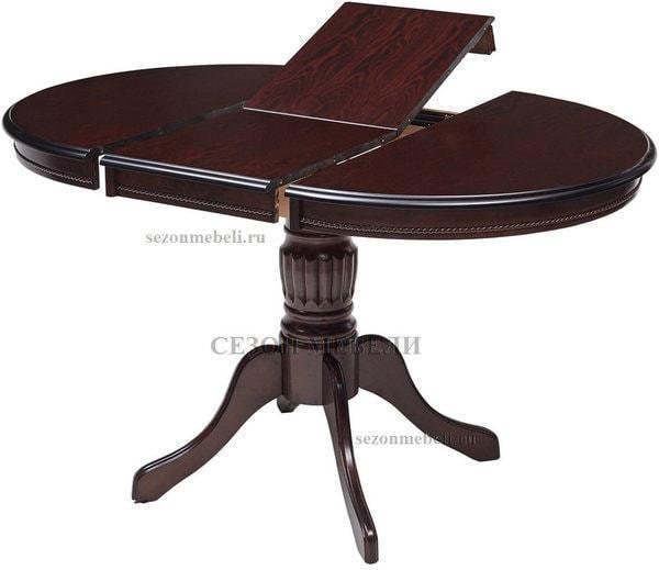 Стол TS Olivia DM-T4EX4(AV) Dark Walnut D90 (фото, вид 1)