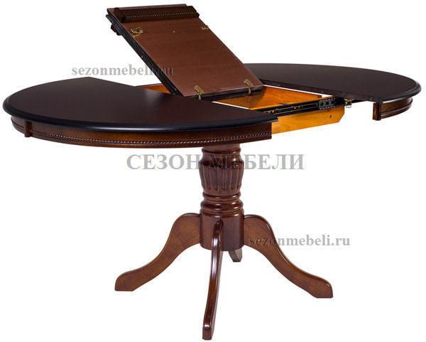 Стол TS Olivia OL-T4EX(AV) Dark Walnut D106 (фото, вид 1)