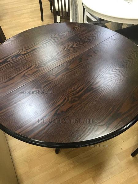 Стол TS Olivia OL-T4EX(AV) Dark Walnut D106 (фото, вид 4)