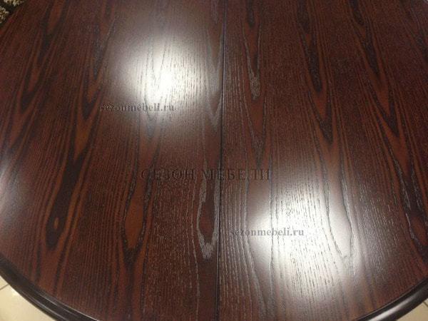 Стол TS Olivia OL-T4EX(AV) Dark Walnut D106 (фото, вид 5)