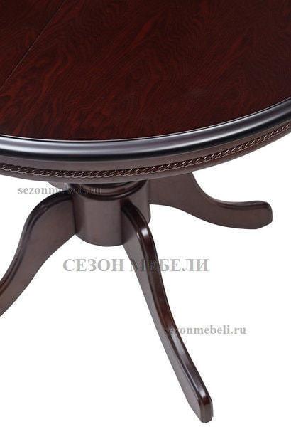 Стол TS Olivia DM-T4EX4(AV) Dark Walnut D90 (фото, вид 3)