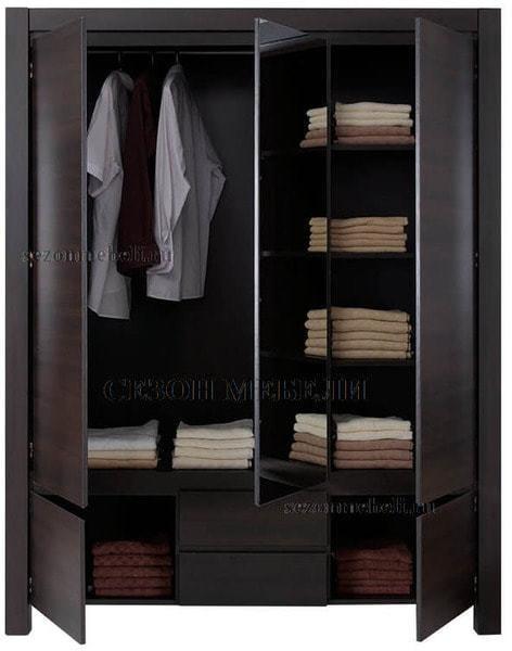 Шкаф с зеркалом Август SZF 5D2S (фото, вид 1)