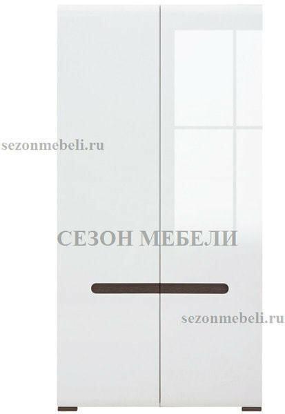 Шкаф Ацтека SZF2D/21/11 белый/белый блеск (фото, вид 1)