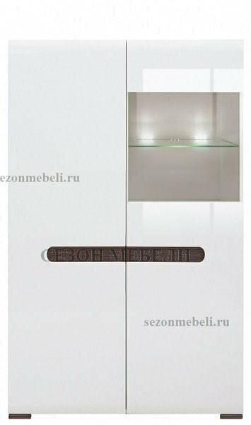 Шкаф Ацтека REG1W1D/14/9 белый/белый блеск (фото, вид 1)