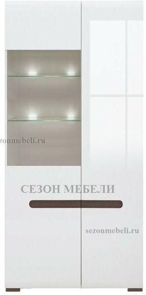 Шкаф Ацтека REG1W1D/21/9 белый/белый блеск (фото, вид 1)