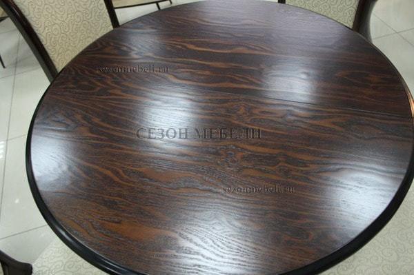 Стол TS Olivia DM-T4EX4(AV) Dark Walnut D90 (фото, вид 6)