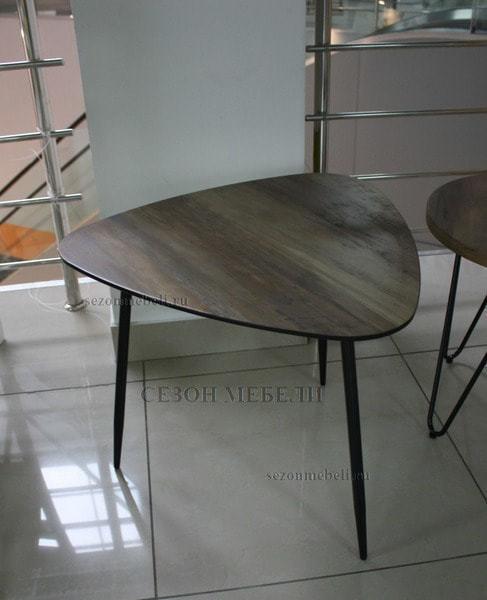 Стол журнальный WOOD 62S #4 дуб серо-коричневый винтажный (фото, вид 2)