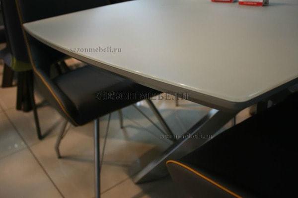 Стол CRYSTAL 160 LATTE MATT GLASS (фото, вид 2)